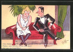 Mann flirtet standig mit anderen frauen