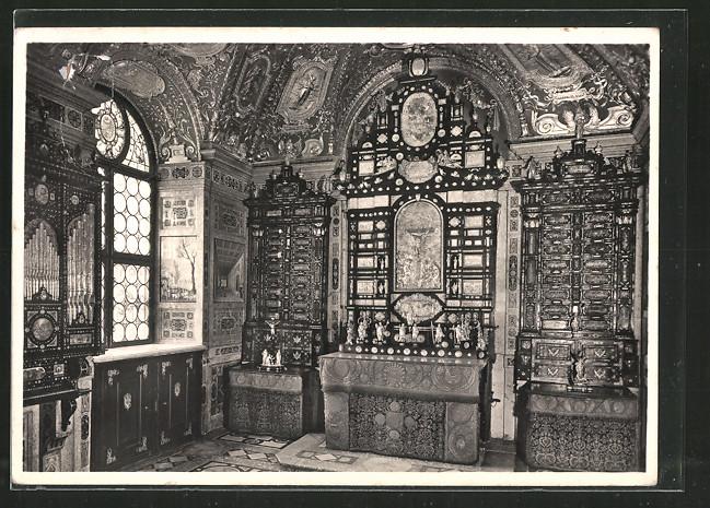Foto Ak Deutscher Kunstverlag Nr 69 München Residenzmuseum
