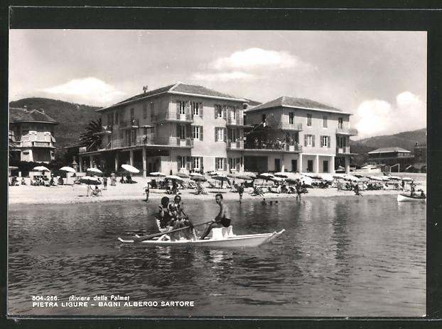 AK Pietra Ligure, Bagni Albergo Sartore Nr. 6451647 ...