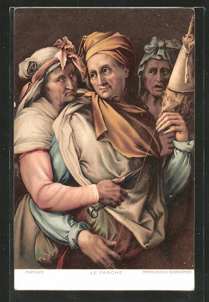 Künstler-AK Stengel & Co. Nr. 29839: Le Parche