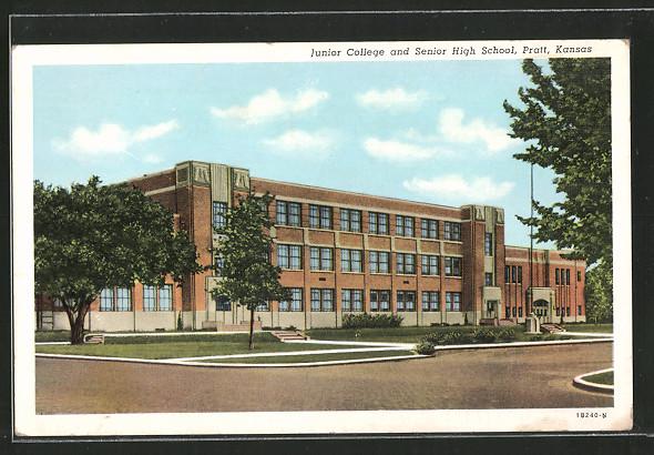 AK Pratt, KS, Junior College and Senior High School