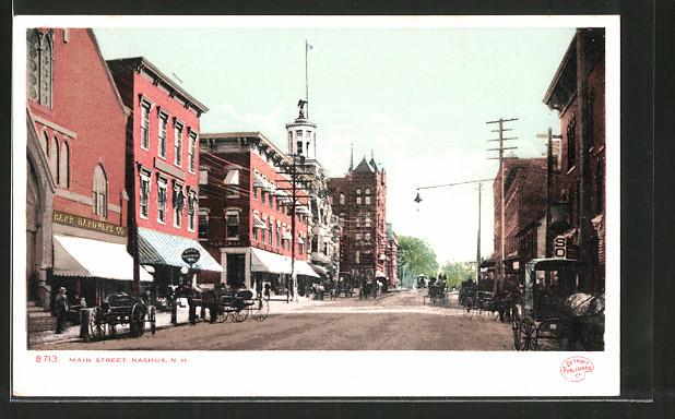 AK Nashua, NH, Main Street, Strassenleben