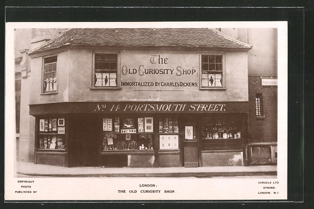 AK London, the Old Curiosity Shop in Portsmouth Street