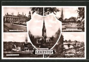 AK Leicester, Central Fire Station, The Municipal Buildings, The Castle Gardens
