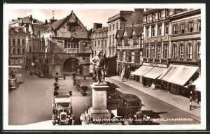 AK Shrewsbury, Old Market Square & Clive Statue