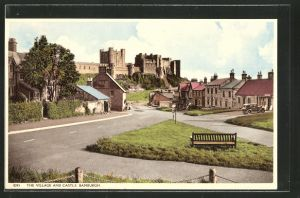 AK Bamburgh, the Village and Castle