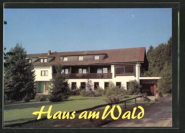 """AK Unterkashof Pension und Restaurant """"Haus am Wald"""" Nr"""