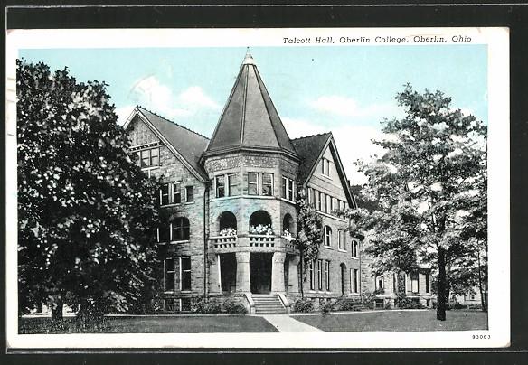 AK Oberlin, OH, Talcott Hall, Oberlin College