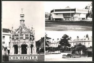 AK Chichester, Festival Theatre, the Cross and Royal West Sussex Hospital