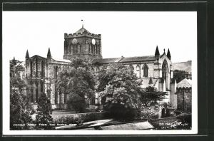 AK Hexham, Abbey from the north west