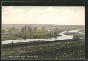 AK Huntington, Ouse Valley from Paxton Hill