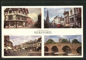 AK Hereford, the Old Hous, Broad Street and Wye Bridge