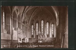 AK Hereford, Cathedral, interior of the Lady Chapel