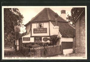 AK St. Albans, Ye Old Fighting Cocks, England's oldest Inn