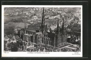 AK Lichfield, Cathedral from the Air