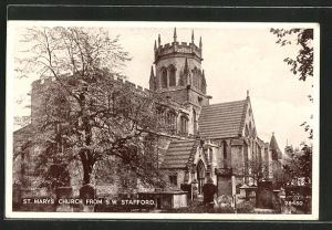 AK Stafford, St. Mary's Church from S.W.