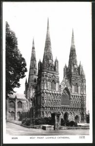 AK Lichfield, West Front of the Cathedral