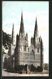 AK Lichfield, Cathedral, West Front