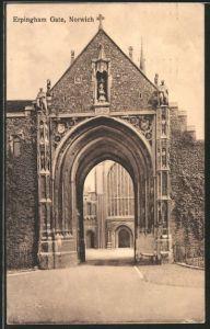 AK Norwich, Looking at Erpingham Gate