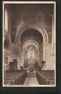 AK Hemel Hempstead, St. Mary's Church Interior