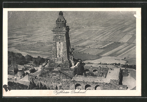 AK Kyffhäuser-Denkmal, Aufnahme Junkers Luftbild