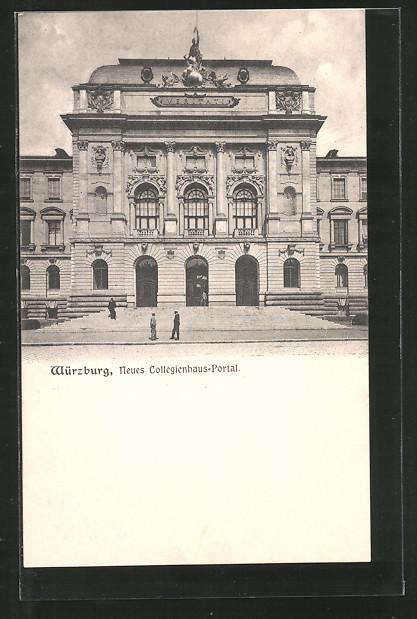 AK Würzburg, Neues Collegienhaus-Portal