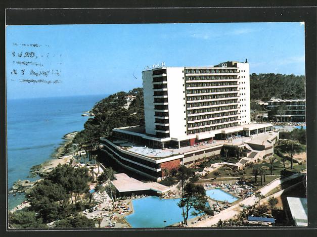 AK Magaluf / Mallorca, Hotel Antillas mit Pool
