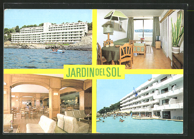 Ak Santa Ponsa Mallorca Hotel Jardin Del Sol Nr 6477802