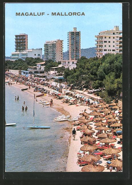 AK Magaluf, Strandpartie