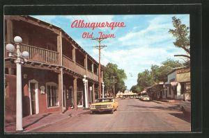 AK Albuquerque, NM, Old Town Plaza