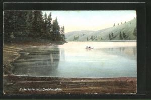 AK Lewiston, ID, Lake Waha near Lewiston
