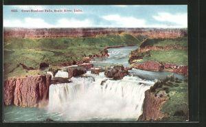 AK Snake River, ID, Great Shoshone Falls
