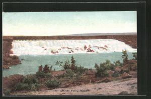AK Milner Falls, ID, Panorama