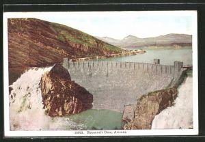 AK Roosevelt Dam, AZ, Panorama