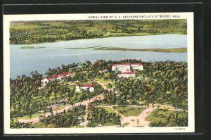 AK Biloxi, MS, Aerial view of U. S. Veterans Facility