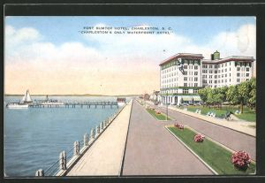 AK Charleston, SC, Fort Sumter Hotel at the Waterfront