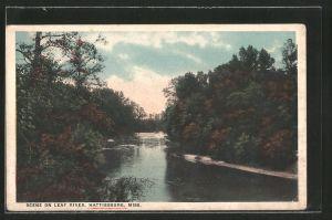 AK Hattiesburg, MS, Scene on Leaf River