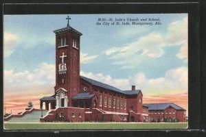 AK City of St. Jude, AL, St. Jude's Church and School