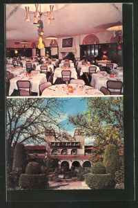 AK Albuquerque, NM, Alvarado Hotel, Speisesaal