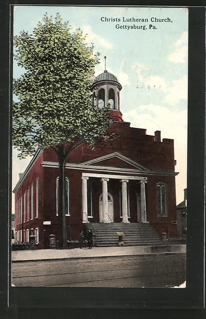 AK Gettysburg, PA, Christ Lutheran Church