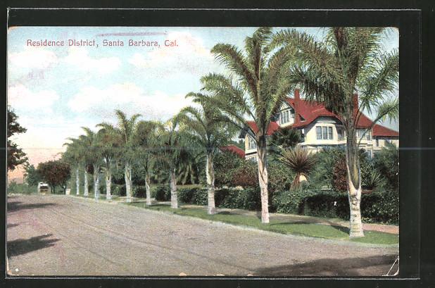 AK Santa Barbara, CA, Residence District