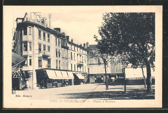 AK Saint-Marcellin, Place d'Armes