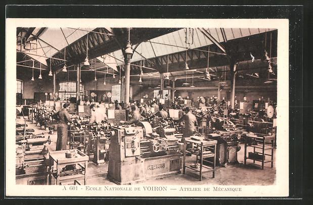 AK Voiron, ecole nationale, atelier de Mécanique