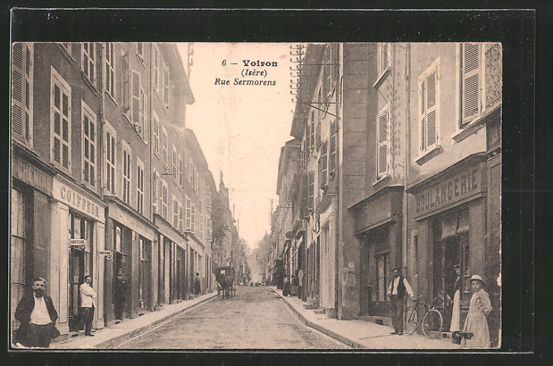AK Voiron, Rue Sermorens, Boulangerie