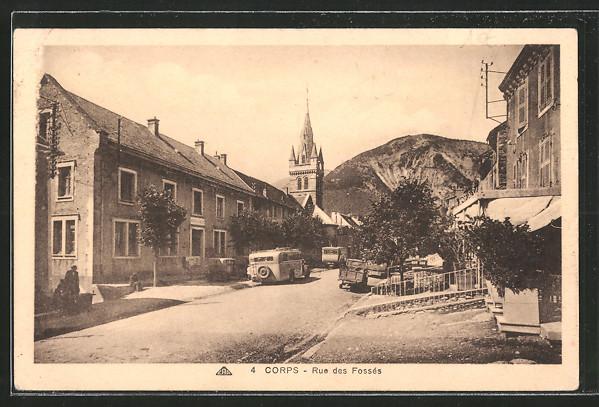 AK Corps, Rue des Fossés