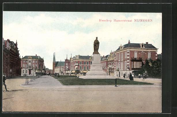 AK Nijmegen, Bisschop Hamerstraat, Denkmal