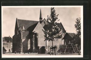 AK Wageningen, N. H. Kerk met Klokkestoel