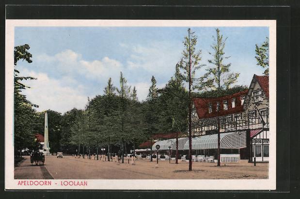 AK Apeldoorn, Loolaan, Strassenpartie