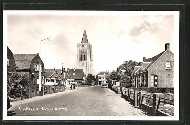 AK Domburg, Oostkapelle, Domburgseweg