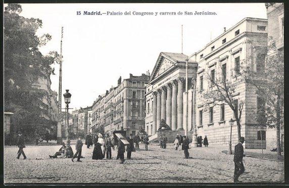 AK Madrid, Palacio del Congreso y carrera de San Jerónimo